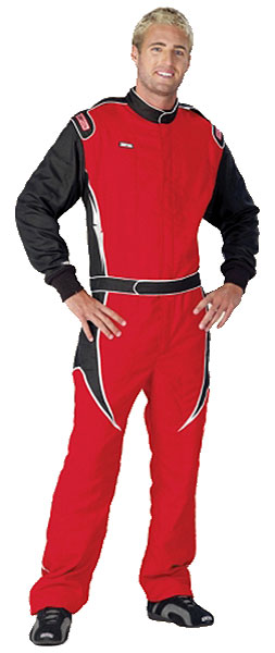 Large photo of Simpson MTO22 Custom-Made Gabardine Nomex III Suit, Pegasus Part No. 2165-Size