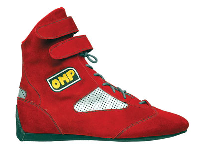 Large photo of OMP Formula Driving Shoe, FIA Approved, Pegasus Part No. 2185-Size-Color