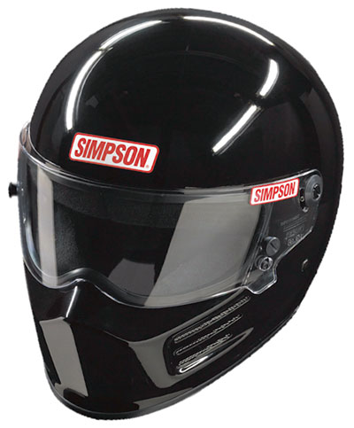 Large photo of Simpson Bandit Helmet, Snell SA2010 Approved, Pegasus Part No. 2209-S10-Size-Color