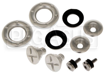 Large photo of Pyrotect Helmet Shield Pivot kit for SA10 Helmets, Pegasus Part No. 2239-301
