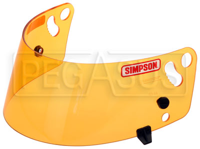 Large photo of Simpson 101 Helmet Shield for Shark and VUDO (SA10 only), Pegasus Part No. 2239-601-Tint