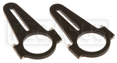 "Large photo of Mirror Roll Bar Brackets Only for 1.75"" D, 0.5-2.5"" (Pair), Pegasus Part No. 22538"
