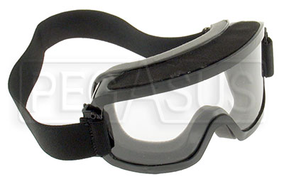 Large photo of Large Goggles (fits over glasses) with Clear Lens, Pegasus Part No. 2268