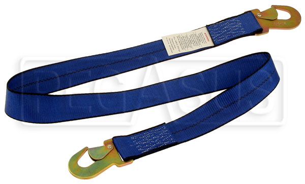 Large photo of 2 inch Tie Back Strap (specify length), Pegasus Part No. 2357-Length