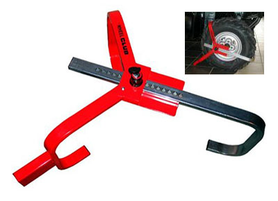 Large photo of The Wheel Club Anti-Theft Device, Pegasus Part No. 2360-003