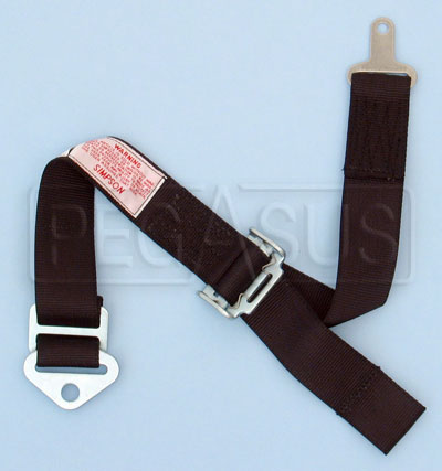 Large photo of Simpson Camlock Single Adjustable Anti-Submarine Strap, Pegasus Part No. 237-23-Color