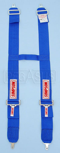 "Large photo of Simpson Camlock H-Type Shoulder Harness, 24-58"" length, Pegasus Part No. 237-31-Color"