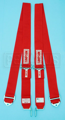 Large photo of Simpson 75 inch Separate Shoulder Harness, Bolt-in, Pegasus Part No. 239-34-Color