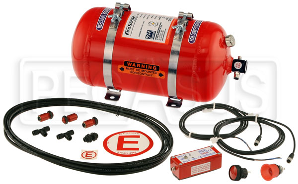Large photo of (H) SPA AFFF Fire Suppression System, Pegasus Part No. 2436-Size-Actuation