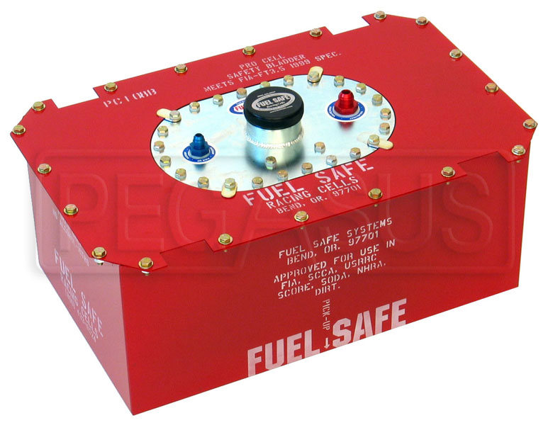 Large photo of Fuel Safe Complete Pro Cell, Steel Container, Pegasus Part No. 2501-Size-Material