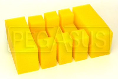 Large photo of Fuel Safe Foam Baffling Only for Pro Cell, Pegasus Part No. 2506-Size