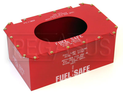 Large photo of Fuel Safe Steel Container Only, Pegasus Part No. 2508-Size-Material