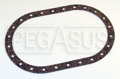 Large photo of Fuel Safe Large Oval Gasket, 24 Bolt, 6 x 10 inch, Pegasus Part No. 2526