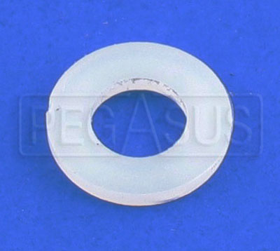 Large photo of Nylon Washer for Fuel Cell Bolts, 0.25 ID x 0.50 OD, Pegasus Part No. 2529