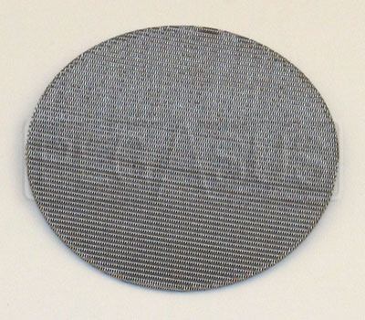 Large photo of 115 Micron Stainless Steel Screen Filter for Fuel Funnel, Pegasus Part No. 2575