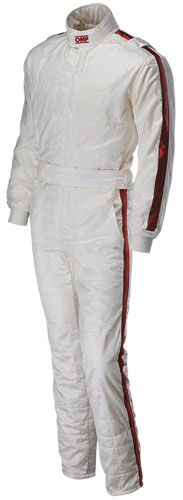 Large photo of OMP Vintage SuperLeggera Suit, 3 Layer Nomex, FIA 8856-2000, Pegasus Part No. 2606-001-Size-Color