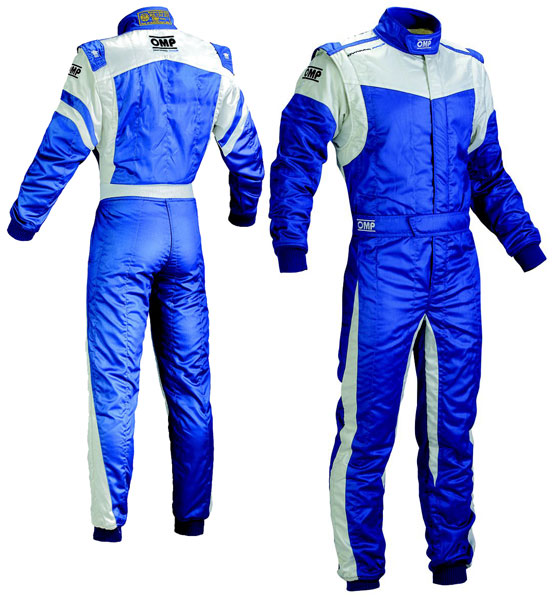 Large photo of OMP Dynamo Race Suit, 2 Layer Nomex, FIA 8856-2000 Save $290, Pegasus Part No. 2606-004-Size-Color