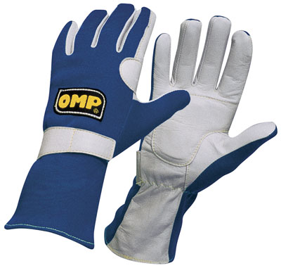 Large photo of OMP America Nomex Driving Gloves, FIA 86 / ISO 6940, Pegasus Part No. 2616-Size-Color