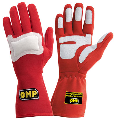 Large photo of OMP Gran Premio Nomex Driving Gloves, FIA 8856-2000, Pegasus Part No. 2620-Size-Color