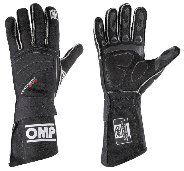 Large photo of OMP Tecnica Evo Driving Glove, FIA 8856-2000, Pegasus Part No. 2627-003-Size-Color