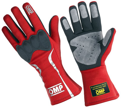 Large photo of OMP Mistral Driving Glove, FIA 8856-2000, Pegasus Part No. 2632-Size-Color