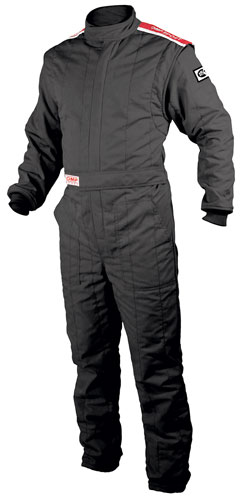 Large photo of OMP Sport 2-Layer Suit with Boot Cuff, SFI-5, Pegasus Part No. 2635-Size-Color