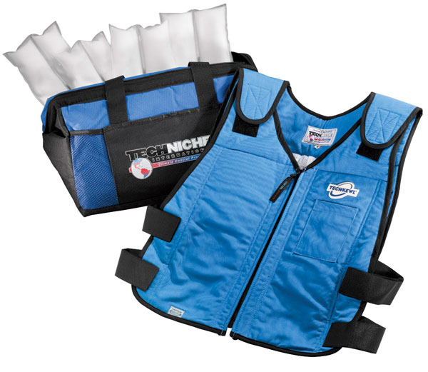 Large photo of TechKewl Phase Change Cooling Vest, Pegasus Part No. 2745-002-Size