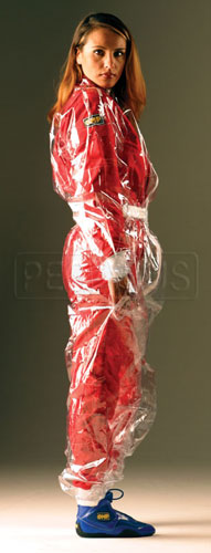 Large photo of OMP Transparent Rainsuit, Pegasus Part No. 2799-Size