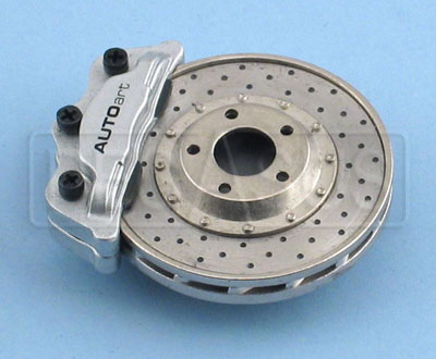 Large photo of Brake Disc Magnet- Silver Caliper, Pegasus Part No. 2804