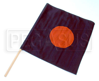 "Large photo of 24"" x 24"" Nylon ""Meatball"" Flag, Pegasus Part No. 2831"
