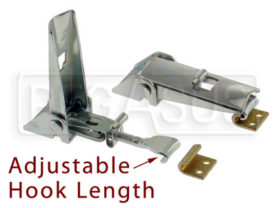 Pegasus Auto Racing on Of Adjustable Toggle Latch With Strike Plate  Pegasus Part No  3045