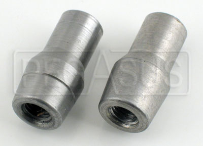 "Large photo of Weldable Tube End, 1/4-28 Thread x .058"" Wall, Pegasus Part No. 3053-Tube Size-Thread"