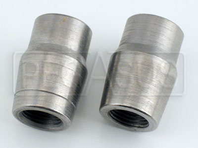 "Large photo of Weldable Tube End, 5/8-18 Thread x .065"" Wall, Pegasus Part No. 3058-Tube Size-Thread"
