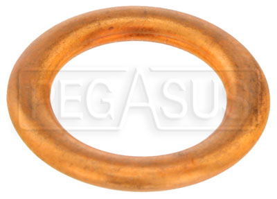 Large photo of Replacement Gasket, Fits 1/2-20, 12mm Male Plug, Pegasus Part No. 3228-370