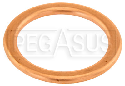 Large photo of Replacement Gasket, Fits 3/4-16, 18mm x 1.50 Male Plug, Pegasus Part No. 3228-373