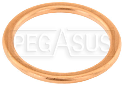 Large photo of Replacement Gasket, Fits 7/8-18, 22mm x 1.50 Male Plug, Pegasus Part No. 3228-375