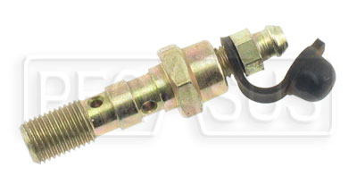 Large photo of Double Banjo Bolt with Bleed Screw, 3/8-24 Thread, Pegasus Part No. 3242-020
