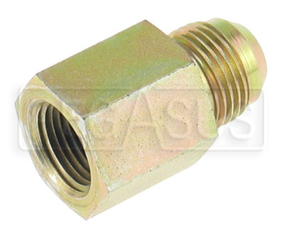 Large photo of Female NPT Pipe to Male AN Adapter, Pegasus Part No. 3254-Size-Size