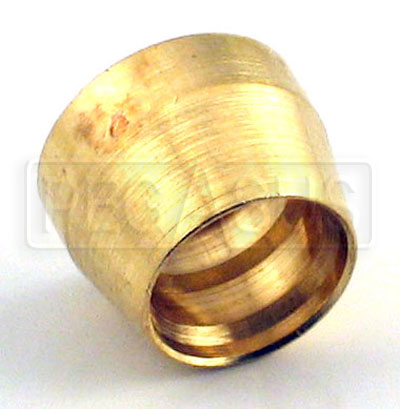 Large photo of Brass Sleeve for -4 Hose Ends (Part No. 3261-4-xxx), each, Pegasus Part No. 3261-4-SLEEVE