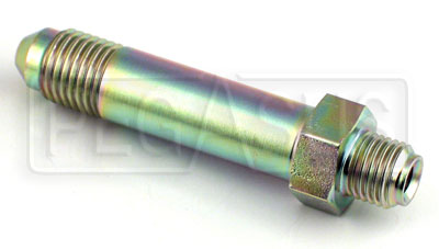 Large photo of 4AN/42 degree Inverted Flare 3/8-24 Brake Adapter-Long, Pegasus Part No. 3265-5