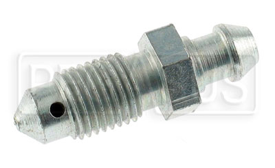 "Large photo of 3/8-24 Short Bleeder Screw, 1.25"" overall length, Pegasus Part No. 3266-01"