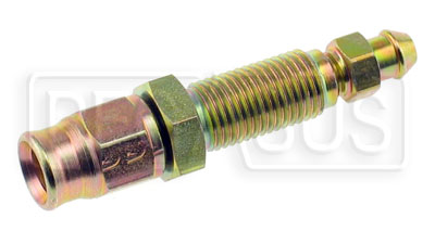 Large photo of Straight Male Bulkhead Bleed Screw to 3AN Hose End, Pegasus Part No. 3266-20