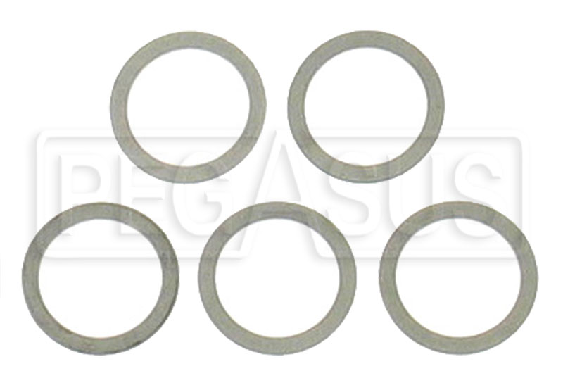Large photo of Aluminum Crush Washers, package of 5, Pegasus Part No. 3278-Size
