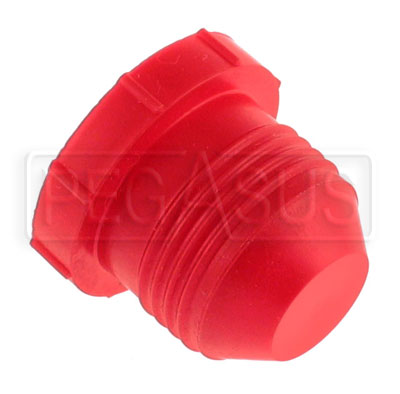 Large photo of AN Plastic Flare Plug (threaded, not push-on type), Pegasus Part No. 3296-Size