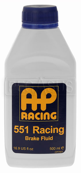 Large photo of AP 551 Racing Brake Fluid, Pegasus Part No. 3305-Quantity