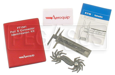 Large photo of Aeroquip Port Identification Kit, Pegasus Part No. 3317