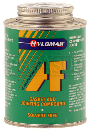 Large photo of (HAO) Hylomar Solvent Free Gasket Maker, 8oz Brush-Top Can, Pegasus Part No. 3318