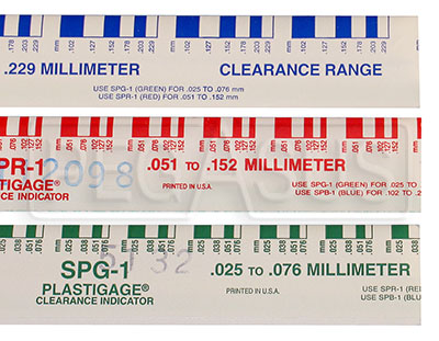 Large photo of Plastigauge Engine Bearing Clearance Checker, Pegasus Part No. 3325-Size