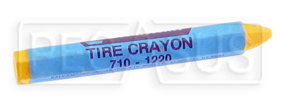 Large photo of Tire Marking Crayon, White, Pegasus Part No. 3332