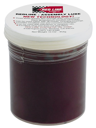 Large photo of Red Line New Technology Assembly Lube, 16 oz Jar, Pegasus Part No. 3349-Quantity